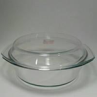 Кастрюля 3.5л жаропрочное стекло  Турция