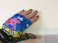 Перчатки для фитнеса PEPPA детские Power Play без пальцев  р.  2XS, XS, S, фото 1