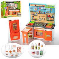 Мебель K1501A-2 (16шт) кухня 31см, свет, посуда, на бат-ке(табл), в кор-ке, 36-31-11см