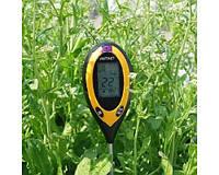 Профессиональный анализатор почвы 4 в 1рH-метр/влагомер/термометр/люксметр для почвы