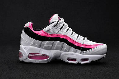 Женские кроссовки Nike Wmns Air Max 95 Essential Pink White Black ... bd489a8543f