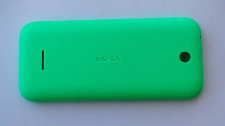 Задняя крышка Nokia 225 DS, зелёная, оригинал, 9448783, фото 2