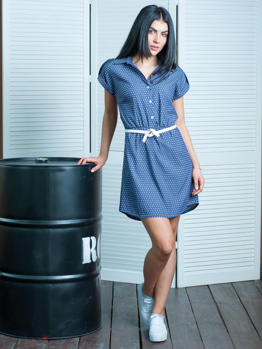 fa200522ee9 Летнее джинсовое платье голубое - Магазин стильной одежды Jules в Киеве