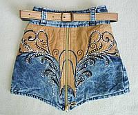 Детская джинсовая юбка для девочек 2-5 лет