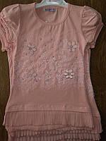 Платье-туника для девочки 6-9 лет