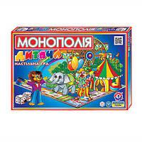 """Настольная экономическая игра детская """"Монополия"""" Технок A0755"""