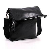 Кожаная мужская сумка модель 5 флотар / сумочка на плечо
