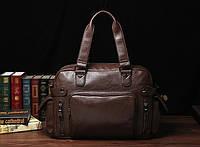 Чоловіча шкіряна дорожня сумка MCGOR. Модель 04290, фото 2