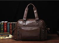 Чоловіча шкіряна дорожня сумка MCGOR. Модель 04290, фото 4