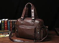 Чоловіча шкіряна дорожня сумка MCGOR. Модель 04290, фото 5