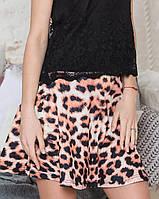 Леопардовая юбка (СВ120 br)