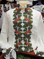 Заготовка чоловічої сорочки для вишивки нитками/бісером БС-21ч, фото 1