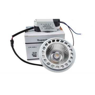 Светодиодная лампа AR111 12W G53 220V KOD