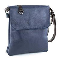 Кожаная сумка унисекс модель 8 флотар / сумочка на плечо
