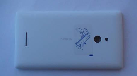 Задняя крышка Nokia XL, белая, оригинал, 8003380, фото 2
