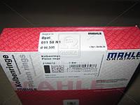 Кольца поршневые OPEL 86,50 2,0/2,2 C20NE/X20XEV (производитель Mahle) 011 58 N1