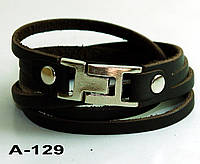 Браслет из натуральной кожи А129
