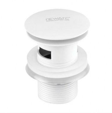 Донный клапан NEWARC (740773W) белый