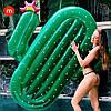 Надувной матрас Modarina Кактус 180 см Зеленый PF3390