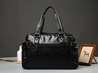 Мужская кожаная дорожная сумка MCGOR. Модель 04291, фото 3