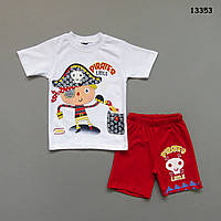 """Летний костюм """"Пират"""" для мальчика. 2-3; 5-6 лет"""