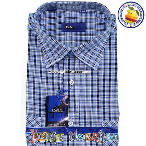 6d417554c7a Купить Мужскую рубашку в клетку 100% Коттон (ворот 39- 46) (vk44b-4 ...