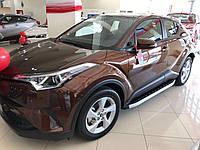 Toyota C-HR Боковые пороги Fullmond
