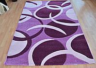 Рельефный ворсовый ковер прямоугольной формы