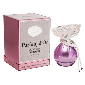 Женская парфюмерная водаParfum D'or Elixir Pink 100ml. Parour