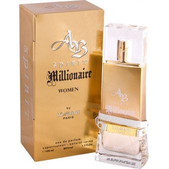 Женская парфюмированная вода AB Spirit Millionaire 100ml. Parour (100% ORIGINAL)