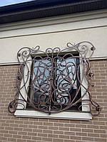 Эксклюзивные кованые оконные решетки