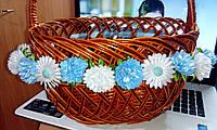 """Декоративная композиция/украшение на пасхальную корзину """"Нежные цветочки"""", унисекс"""