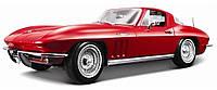 Автомодель 1:24 Chevrolet Corvette 1970 красный MAISTO (31202 red)