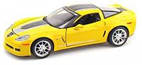 Автомодель 1:24 Chevrolet Corvette Z06 GT1 2009 жёлтый MAISTO (31203 yellow)