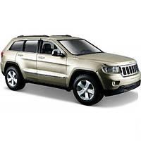 Автомодель 1:24 Jeep Grand Cherokee 2011 золотистый MAISTO (31205 gold)