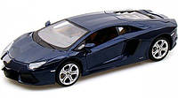 Автомодель 1:24 Lamborghini Aventador LP700-4 синий металлик MAISTO (31210 met. blue)