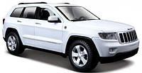 Автомодель 1:24 Jeep Grand Cherokee 2011 белый MAISTO (31205 white)