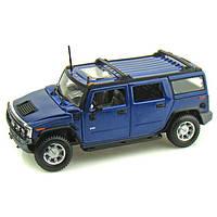 Автомодель 1:27 Hummer  H2 SUV 2003 синий MAISTO (31231 blue)