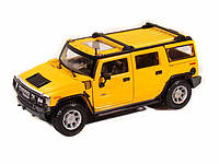 Автомодель 1:27 Hummer  H2 SUV 2003 жёлтый MAISTO (31231 yellow)