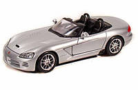 Автомодель 1:24 Dodge Viper SRT-10 серебристый MAISTO (31232 silver)