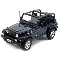 Автомодель 1:27 Jeep Wrangler Rubicon синий MAISTO (31245 blue)