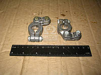 Клемма аккумуляторная 2 штук (свинец) ремонтная (производитель Украина) 5320-3703001/2