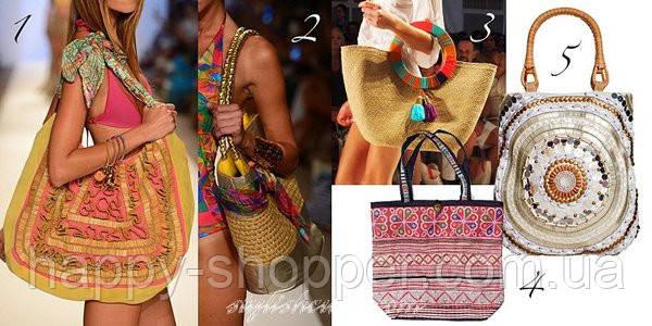 В декоративном решении пляжных сумок ограничений нет  возможно все! Это  могут быть искусственные цветы, вышивки, рюши и воланы, бусы и бисер,  тесьма, ... 7325a878455