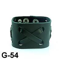 Браслет из натуральной кожи G54