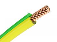 Провод  ПВ 3 1 желто зеленый CU