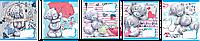 Тетради 12 листов клетка Me-To-You blue-17 ЗУ, рисунки в ассортименте
