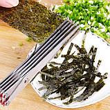 Ножницы для нарезки зелени с 10 лезвиями шеткой для очистки 22 см , фото 9
