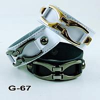 Браслет из натуральной кожи G67