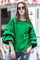 """Женская блуза свободная """"Феллини"""" в разных цветах"""