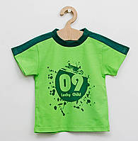 Хлопковая  футболка   для мальчика